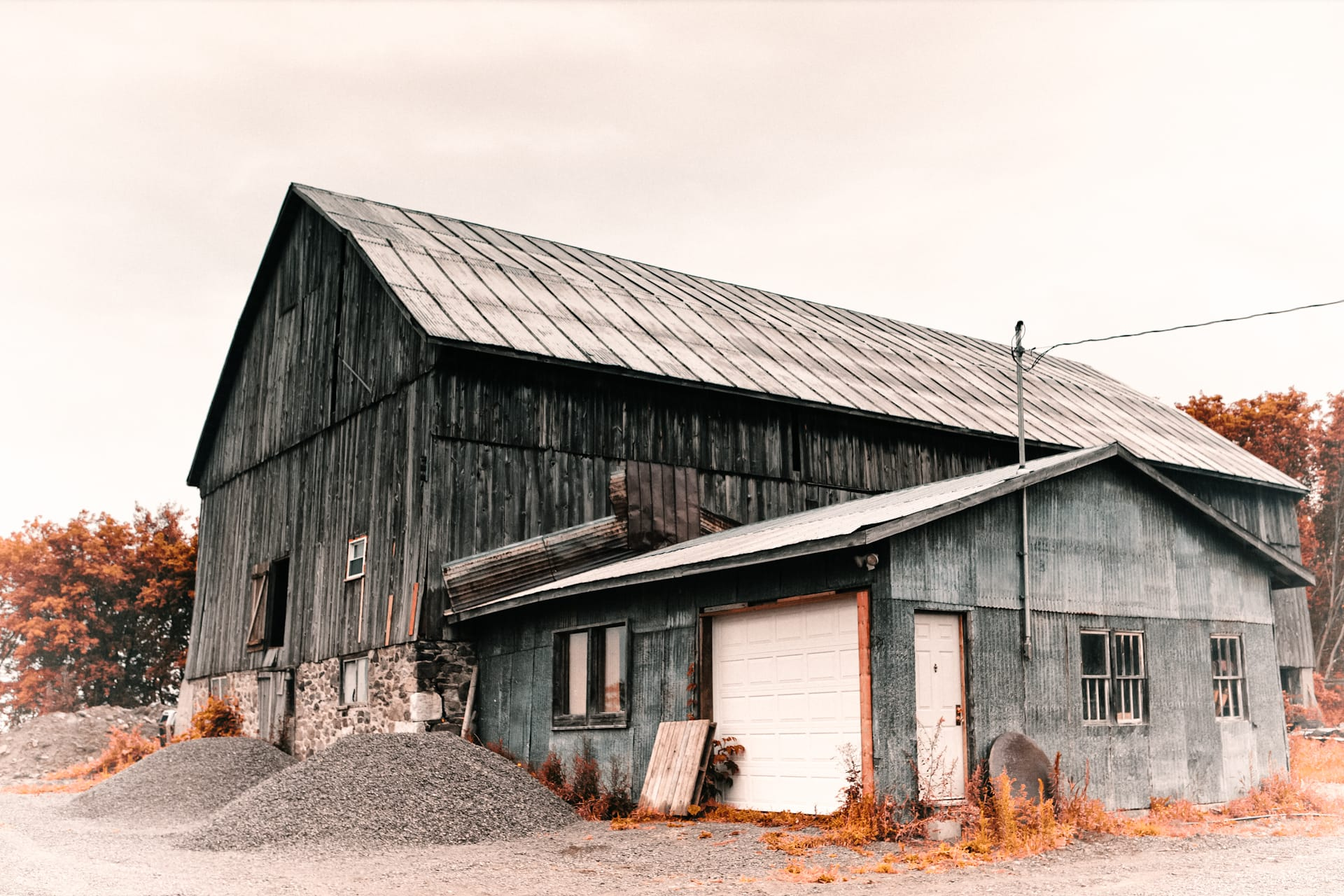 1800's Barn of Canada
