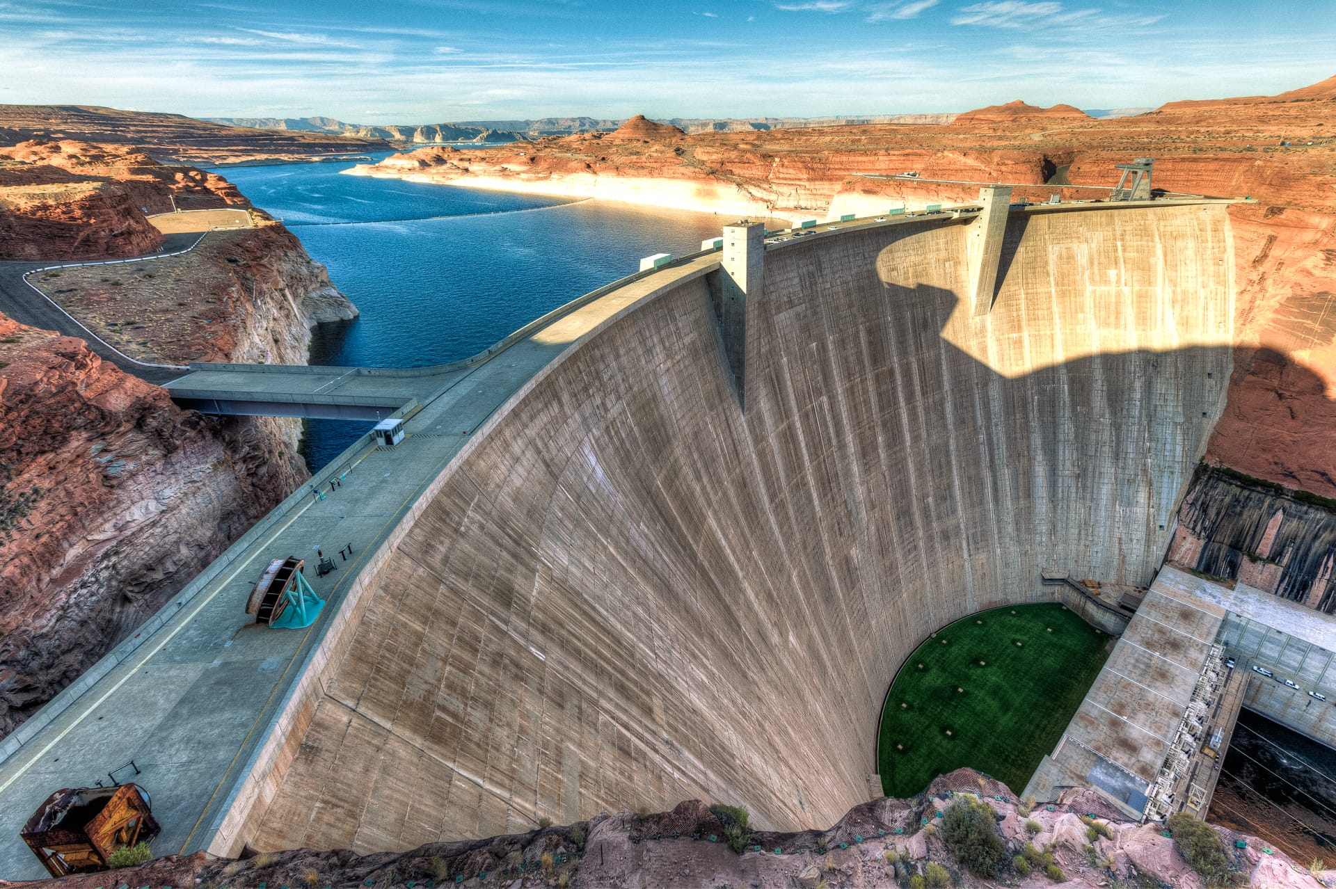 HDR photo, Glen Canyon Dam