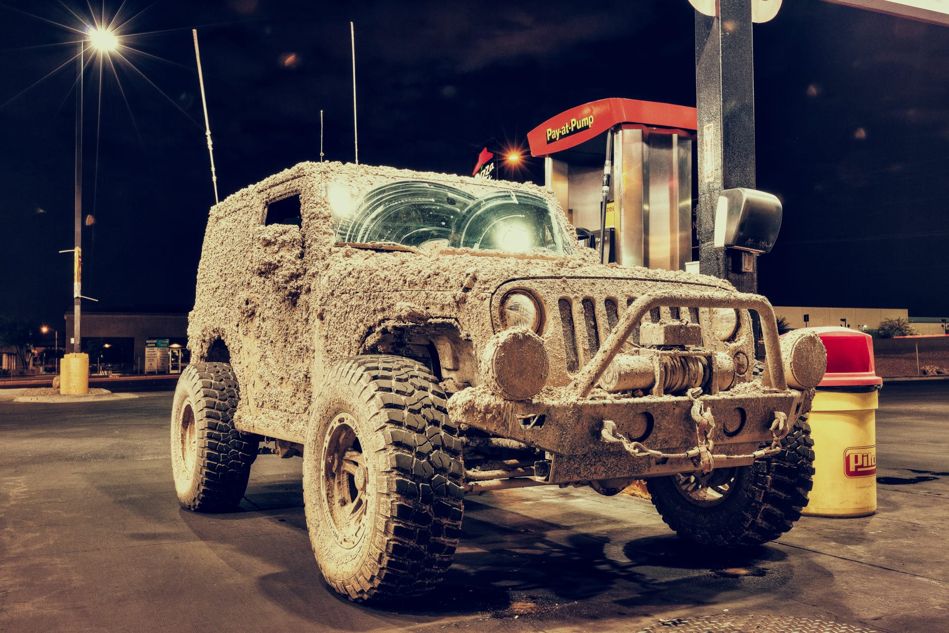 HDR Photo, Mud Truck, Las Vegas