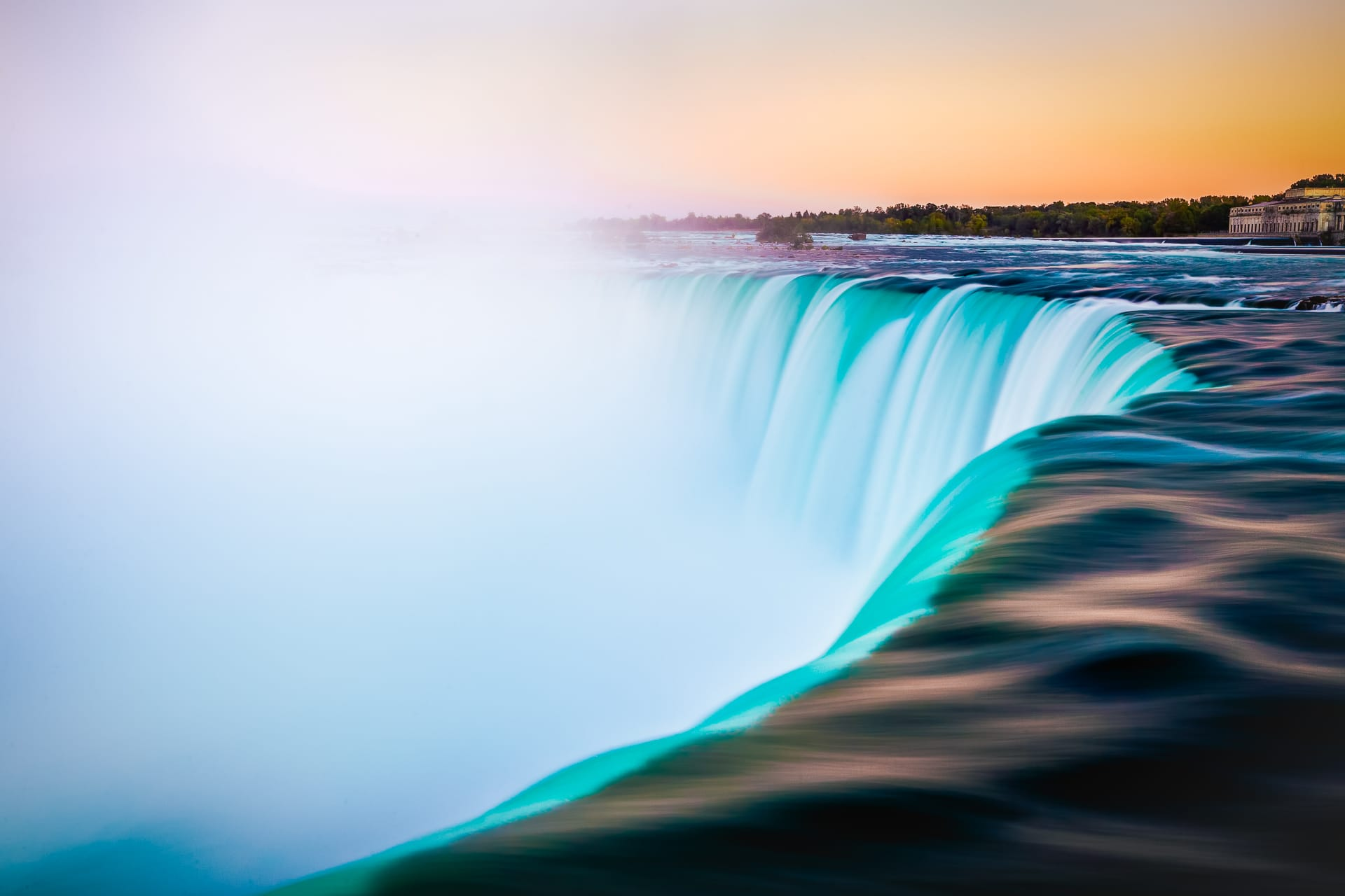 Over The Falls at Niagara Falls