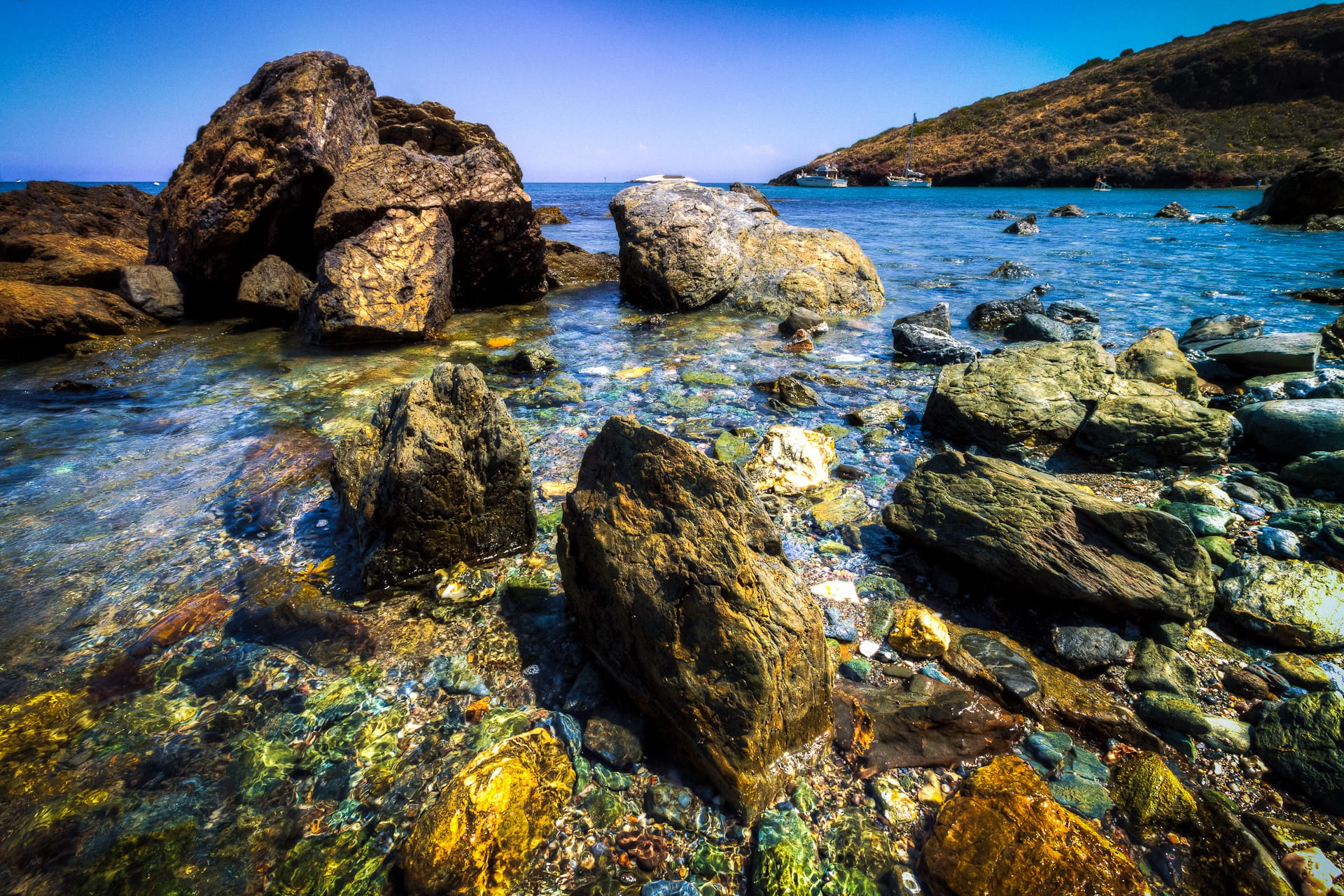 The Beach Rocks of Two Harbors Catalina