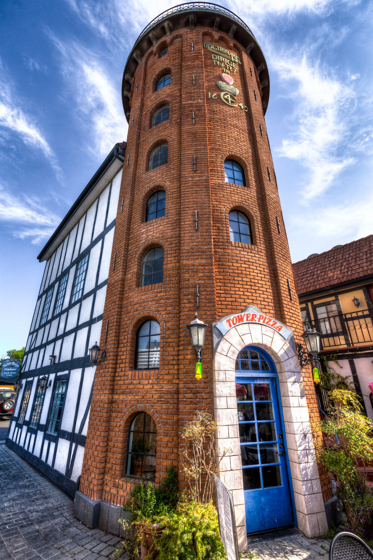HDR Photo of Tower Pizza of Solvang