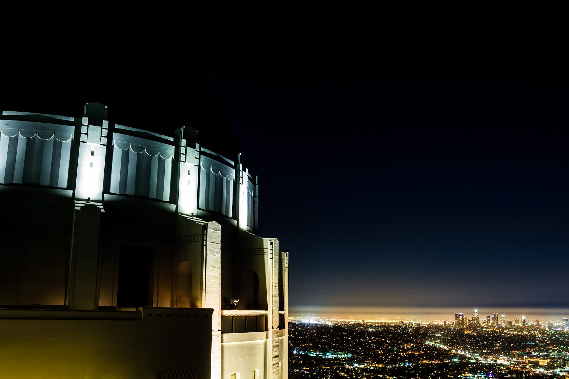 Griffith Observatory Los Angeles Night Photography