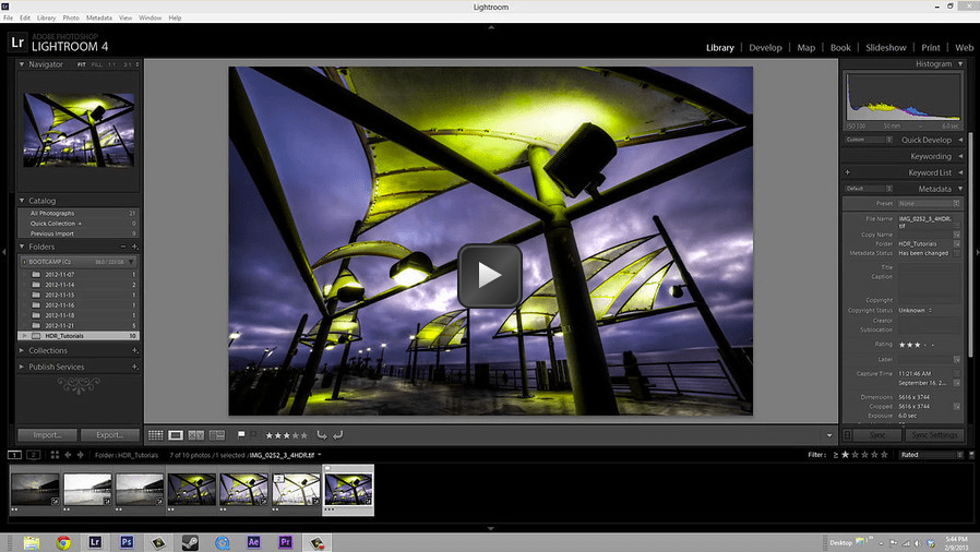 High Dynamic Range Tutorial