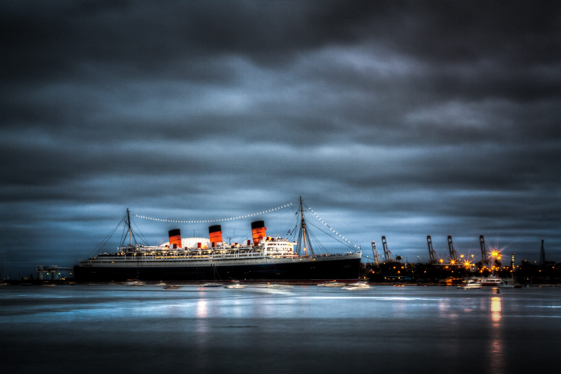 Haunted Queen Mary Long Beach California