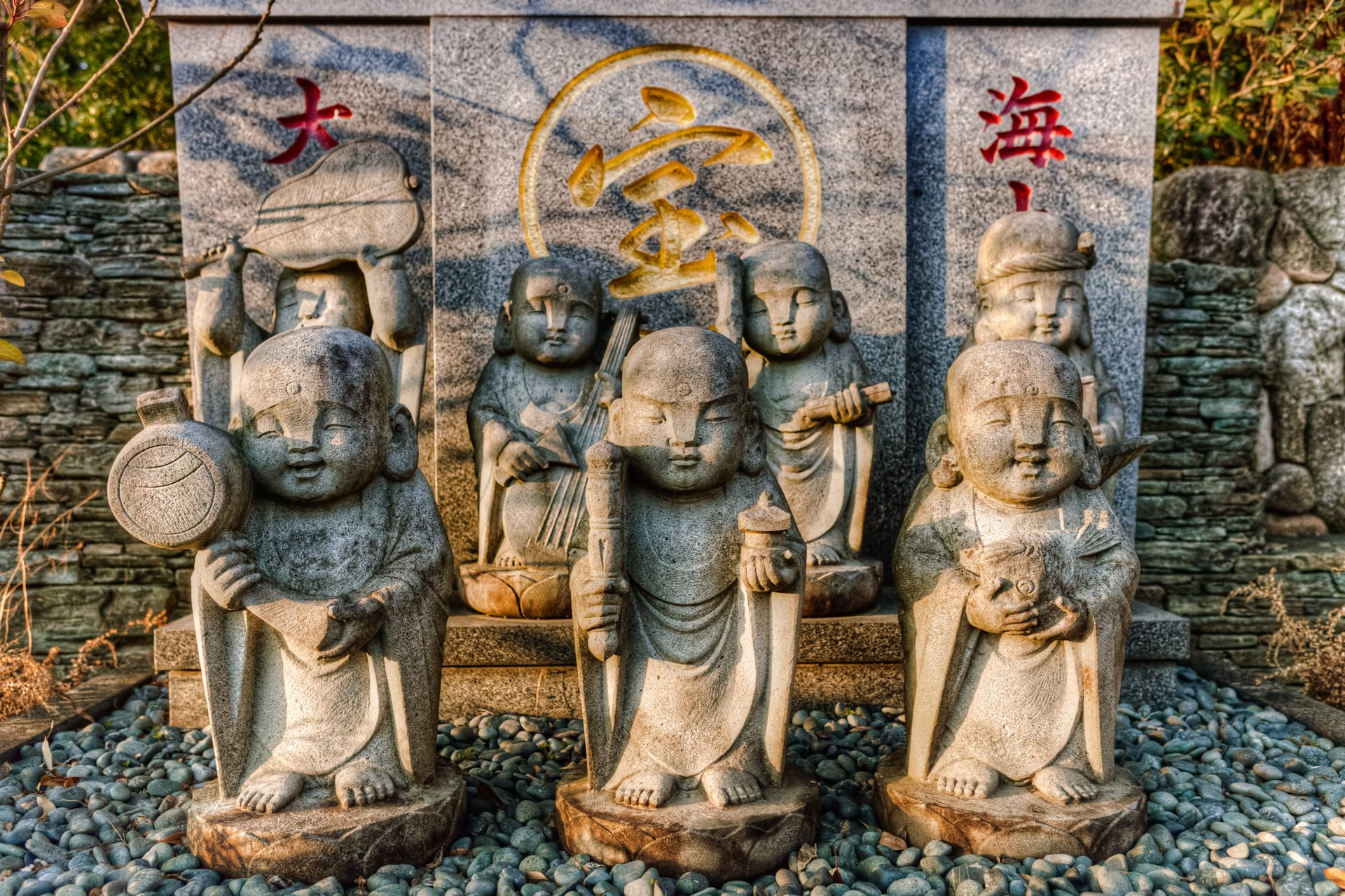 Seven Lucky Gods of Fortune