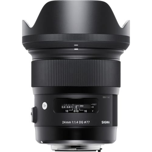 Sigma's New 24mm f1.4 ART Lens