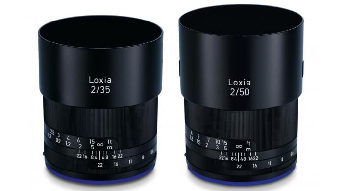 sony lenses. list of sony lenses for full frame e-mount.