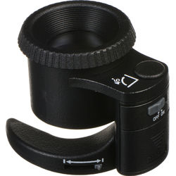 LED magnifying sensor loupe for cleaning your mirrorless sensor,