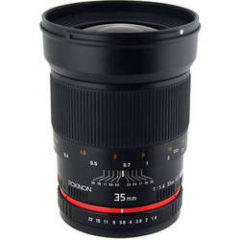 Rokinon 35mm f1.4 AS UMC Lens for Sony E Mount