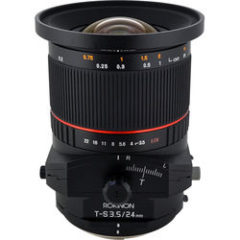 Rokinon T-S 24mm f3.5 ED AS UMC Tilt-Shift Lens for Sony E Mount
