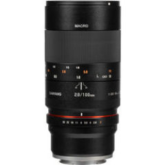 Samyang 100mm f2.8 ED UMC Macro Lens for Sony E-Mount
