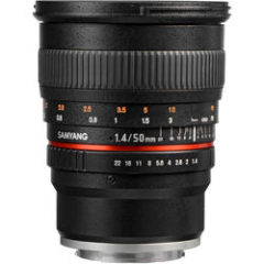 Samyang 50mm f1.4 AS UMC Lens for Sony E Mount