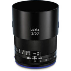 Zeiss Loxia 50mm f2 Planar T Lens for Sony E Mount
