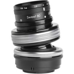 Lensbaby Composer Pro II with Sweet 80 Fujifilm X-Mount
