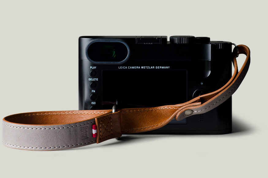 Hard Graft Leather camera wrist strap
