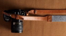 HardGraft leather camera strap