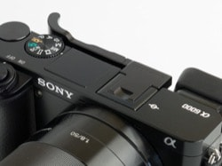 Lensmate thumb rest for the Sony A6000