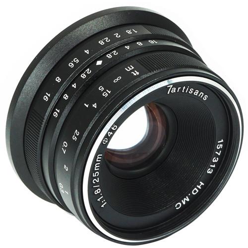 7Artisans 25mm f1.8