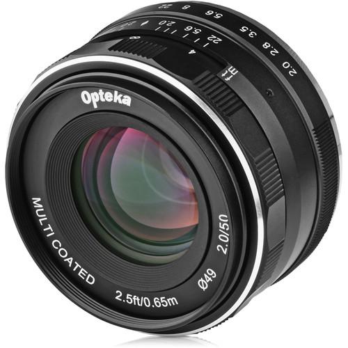 Opteka 50mm f2.0