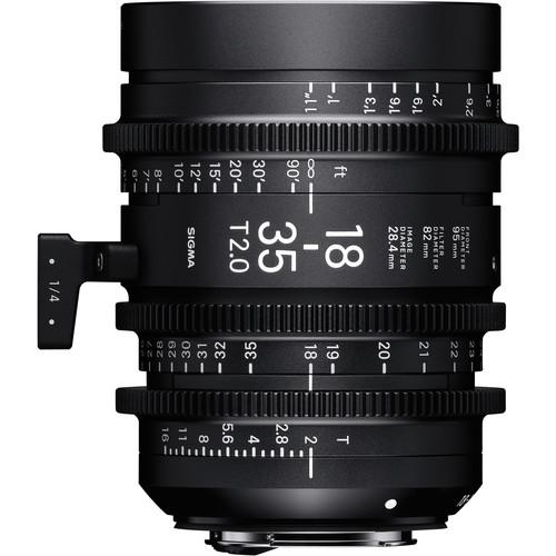 Sigma 18-35mm T2 Cinema Lens