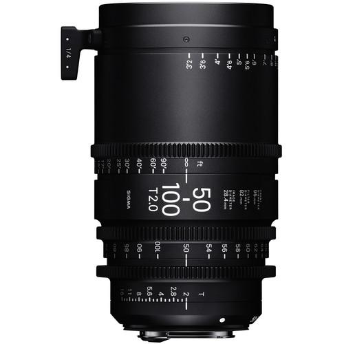 Sigma 50-100mm T2 Cinema Lens