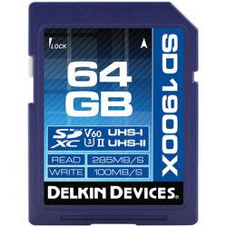 Delkin 1900x UHS-II Memory Card