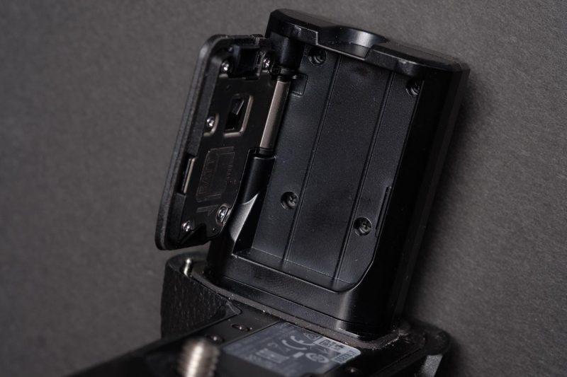 Sony Battery Grip Door Storage