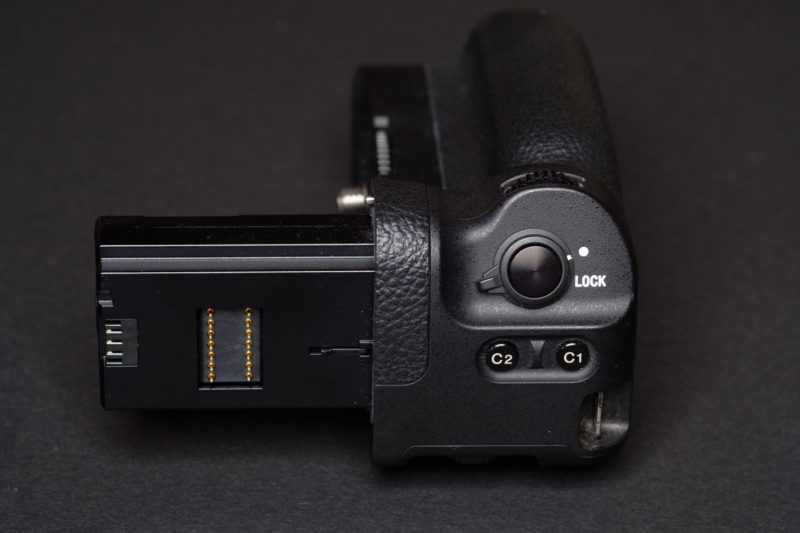 Sony Battery Grip Top Buttons