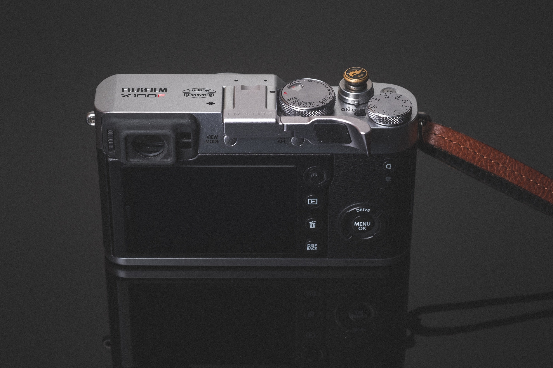 Fuji X100F Lensmate Thumb Grip Back View