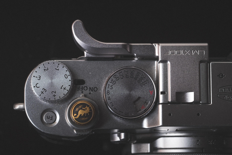 Fujifilm X100F Thumb Grip