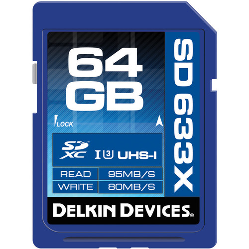 Delkin 633X SD Memory Card Review