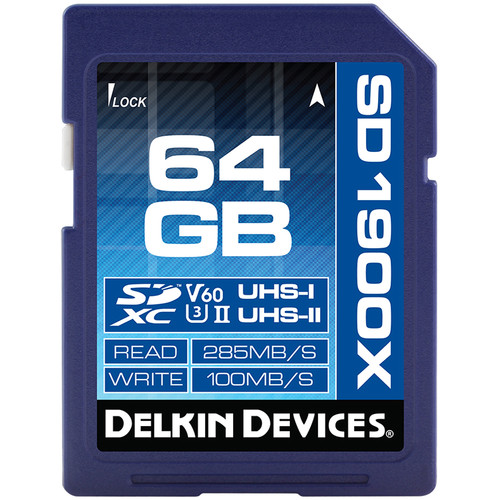 Delkin 1900X V60 UHS-II SD Memory Card Review