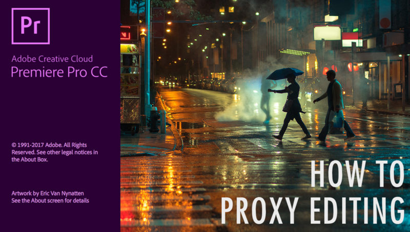 How to use Proxies in Premiere Pro