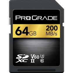 ProGrade V60 UHS-II SD Card