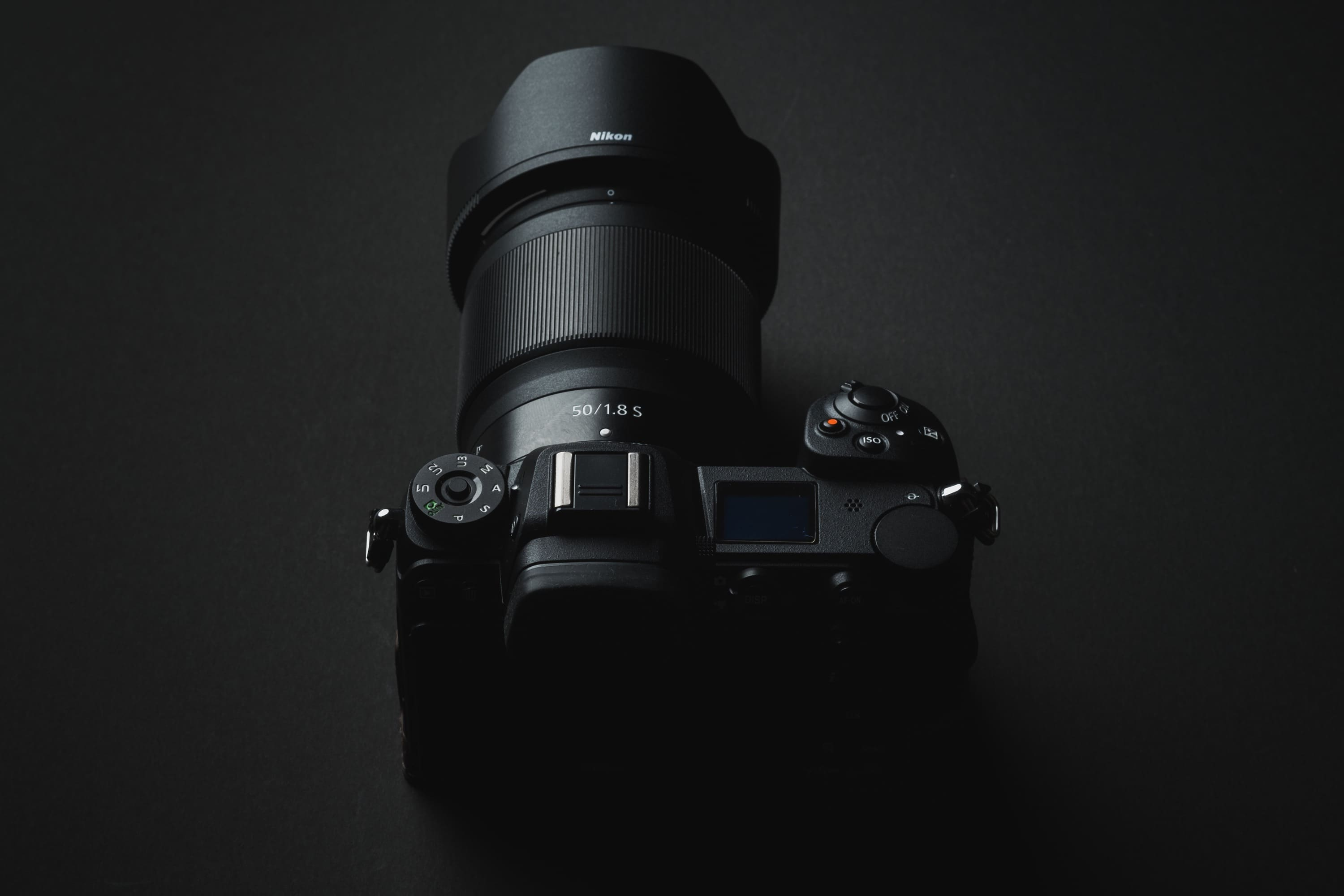 Nikon 50mm f1.8 S Product Shot On Z 6
