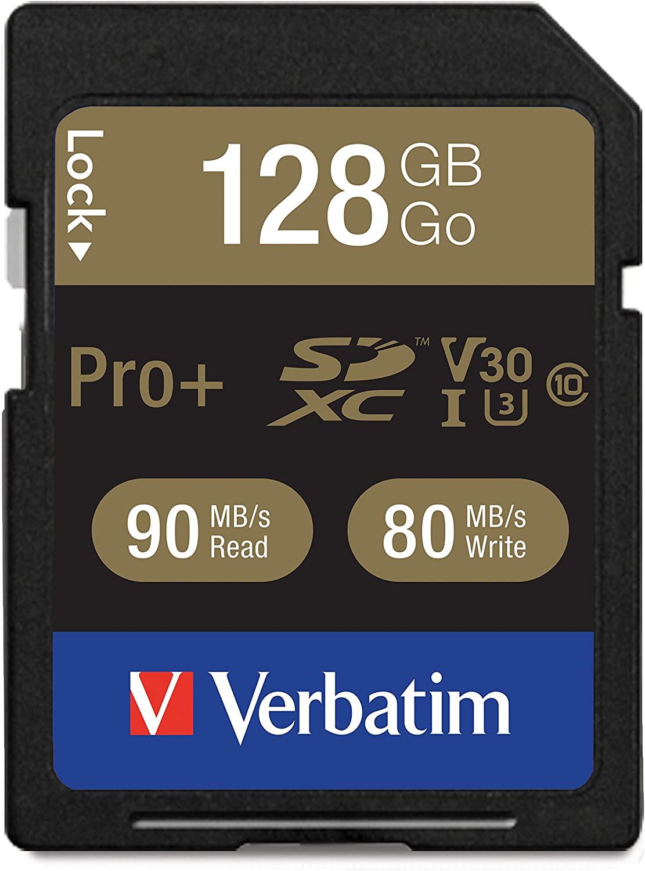 Verbatim Pro+ Memory Card