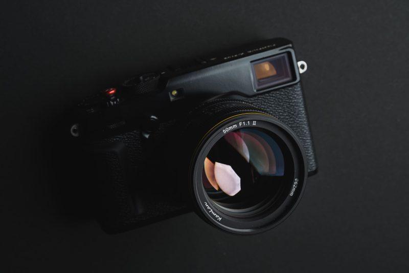 Kamlan 50mm f1.1 II product shot
