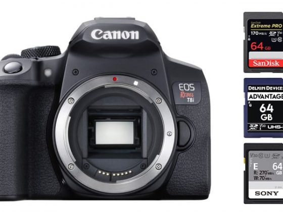Canon T8i Best Memory Cards