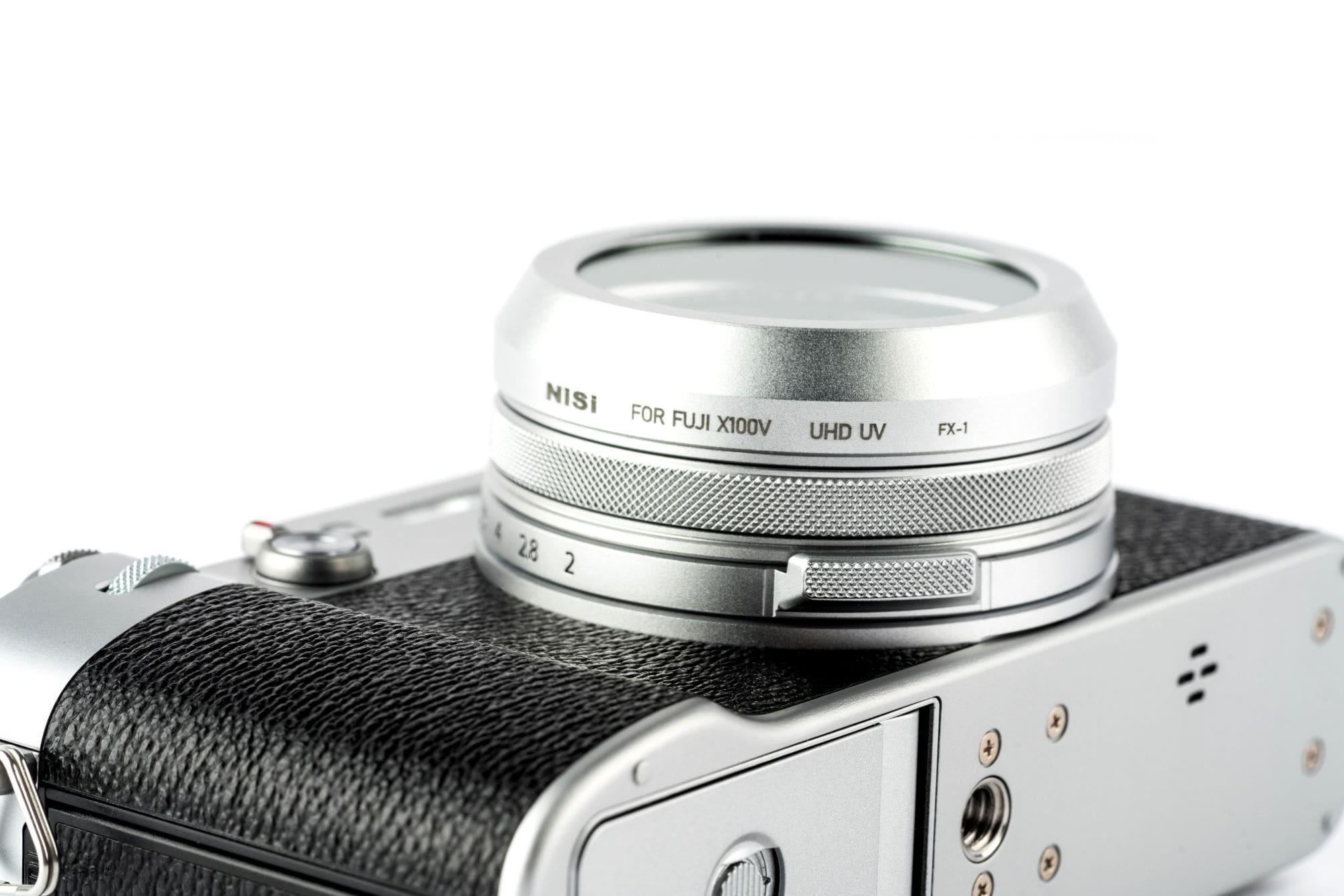 Lens Cap with UV filter Fujifilm X100V