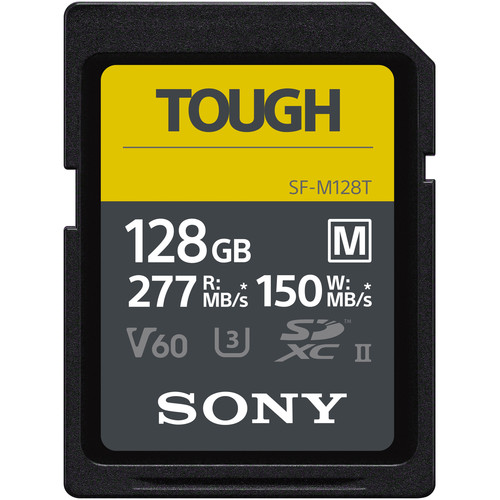 Sony Tough M 128 Card For Olympus E-M1 Mark III