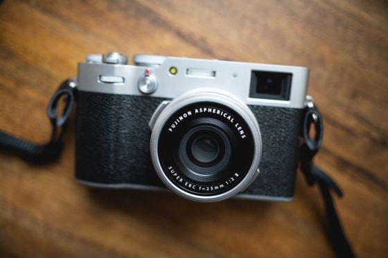 Photo of the Fujifilm X100v