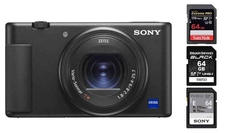 Best Memory Cards Sony ZV-1