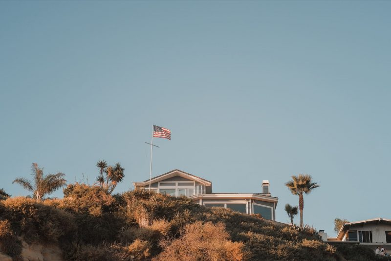 House on the cliffs
