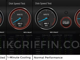 CFexpress Cards Thermal Throttling