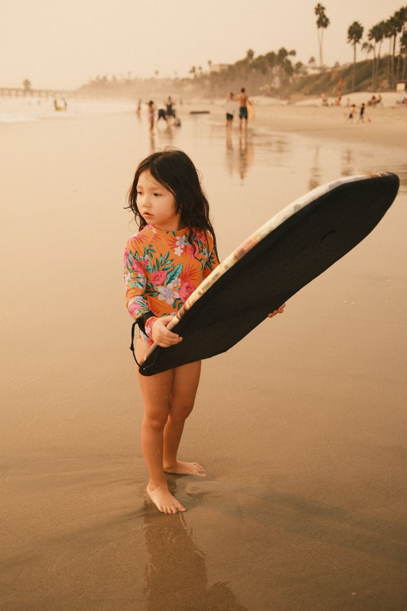 Kalina with Body Board