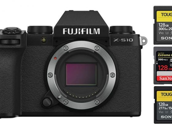 Fujifilm X-S10 SD Card