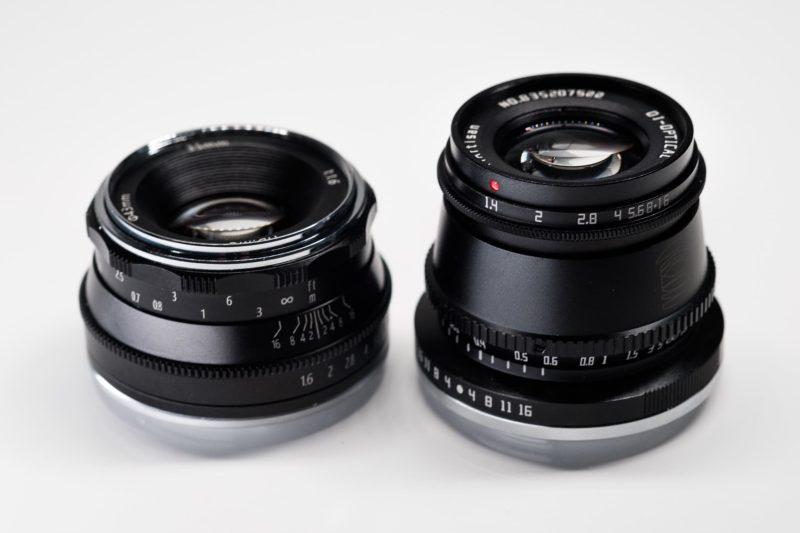 TTArtisan 35mm f1.4 vs Pergear 35mm f1.6